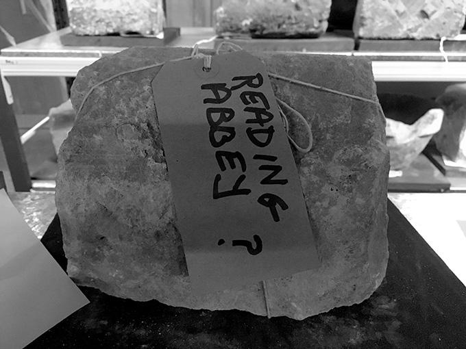 reading stone