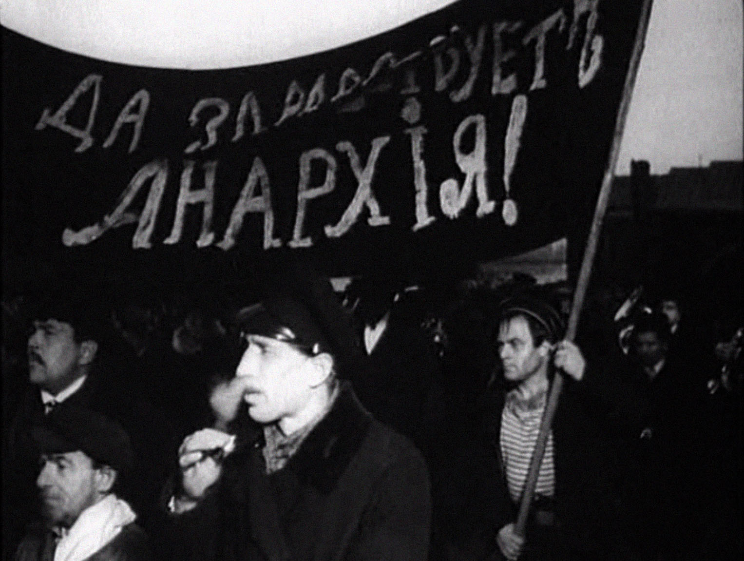 A sack, farce, and nationalism: the image of anarchists in soviet and post-soviet cinema