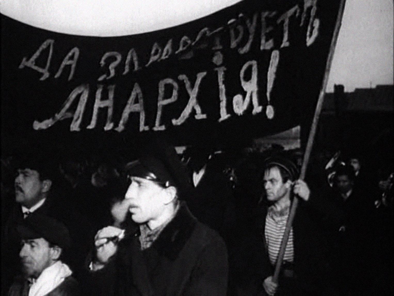 Мішок, балаган і націоналізм: образ анархістів у радянському та пострадянському кіно